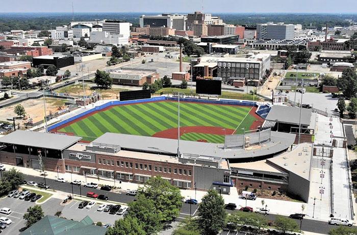 BB&T Point Baseball Stadium